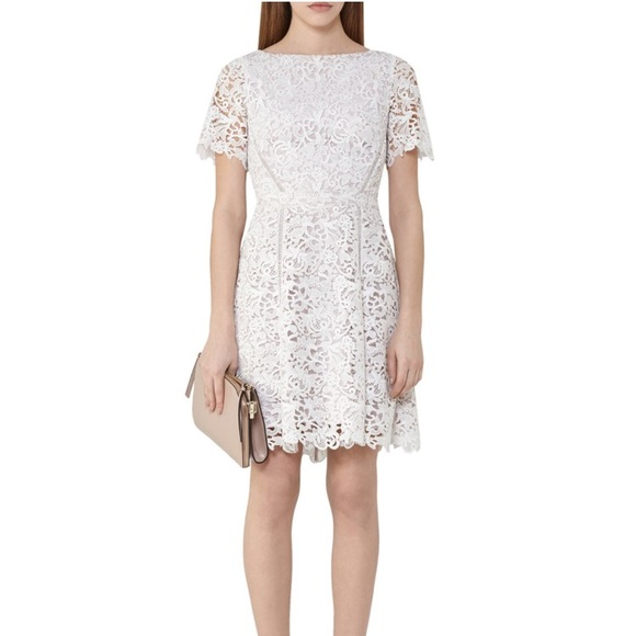 Reiss Eleania Lace Dress sz 4
